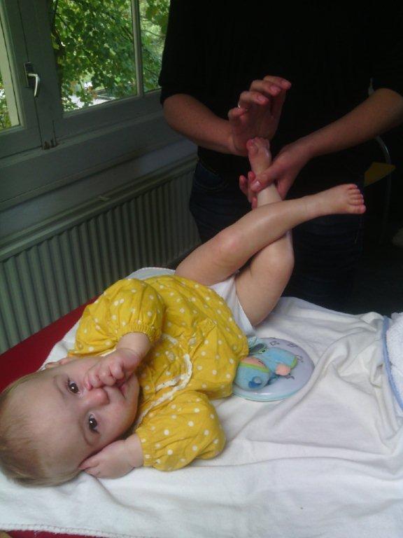 Babymassage verwenochtend